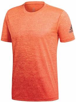 Adidas FreeLift Gradient T-Shirt Men hi-res orange / raw amber