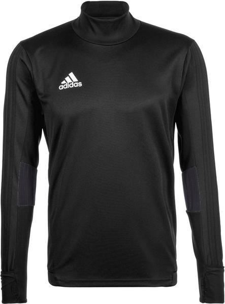 Adidas Tiro 17 Training Shirt Men black/dark grey/white