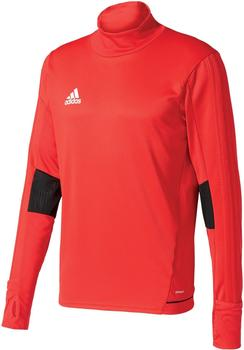 Adidas Tiro 17 Training Shirt Men scarlet/black/white
