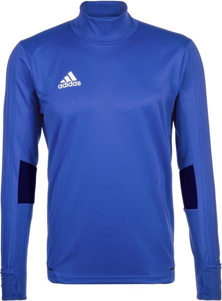 Adidas Tiro 17 Training Shirt Men blue/collegiate navy/white