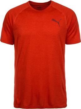 Puma Active Training Men Bonded Tech T-Shirt flame scarlet heather
