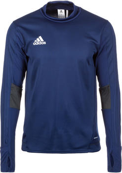 Adidas Tiro 17 Training Shirt Men dark blue / dark grey / white