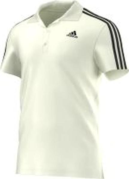 Adidas Sport Essentials 3-Streifen Poloshirt white