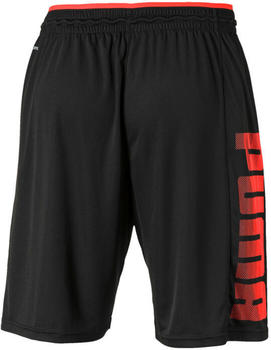 Puma Collective Knitted Training Shorts Men (518362) black/nrgy red