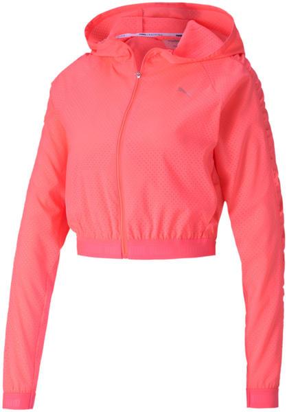 Puma Be Bold Woven Training Jacket Women ignite pink