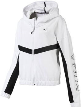 Puma HIT Feel It Knitted Training Sweat Jacket Women white