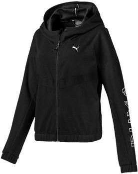 Puma HIT Feel It Knitted Training Sweat Jacket Women black 1