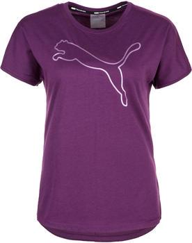 Puma Cat Short Sleeve Training Tee Women purple