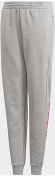 Adidas Linear Pants Kids medium grey heather/real pink (EH6158)