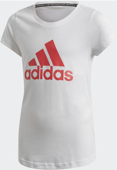 Adidas Must Haves Badge of Sport T-Shirt Kids white/core pink (FM6509)