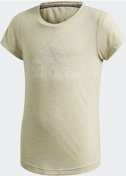 Adidas Must Haves T-Shirt Kids yellow tint mel/white (FM4820)