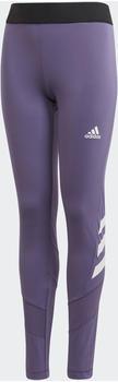 Adidas The Future Today Tight Kids tech purple/white (FM5863)