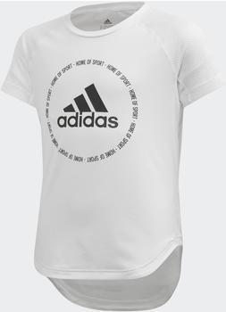 Adidas Bold T-Shirt Kids white/black (FM5820)