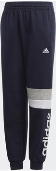 Adidas Linear Colorblock Pants Kids legend ink/white (GD6320)