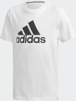 Adidas Must Haves Badge of Sport T-Shirt Kids white/black (DV0815)