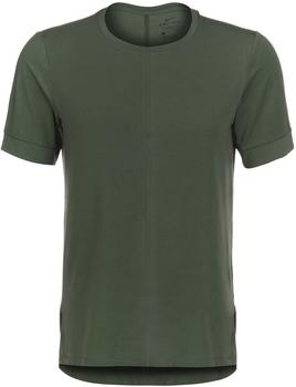 Nike Dry Top SS Yoga T-Shirt Men (BV4034) galactic jadeblack