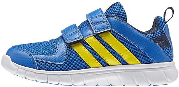 Adidas Sta Fluid 3.0 J shock blue/bright yellow/mineral blue