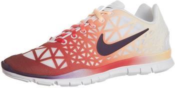 Nike Free TR Fit 3 Dye White/Grand Purple-Melon Tint-Red Reef