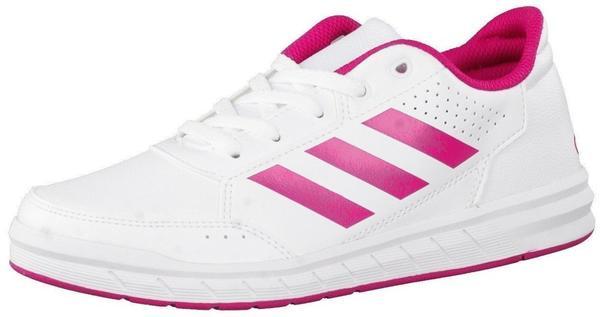 Adidas AltaSport K footwear white/bold pink/footwear white