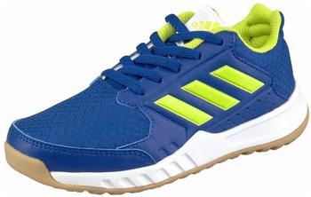 Adidas FortaGym K collegiate royal/semi solar yellow/footwear white