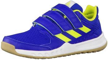 Adidas FortaGym CF K collegiate royal/semi solar yellow/footwear white