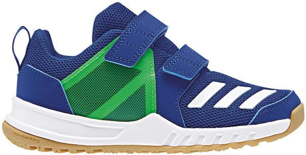 Adidas FortaGym K (AH2562) collegiate royal/ftwr white/shock lime