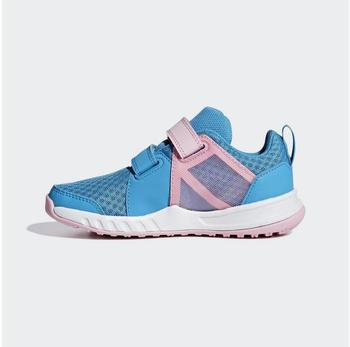 Adidas FortaGym K (AH256) shock cyan/ftwr white/true pink