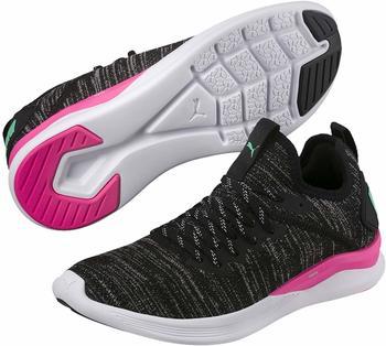Puma IGNITE Flash evoKNIT Women black/pink/biscay green