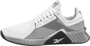 Reebok Flashfilm Trainer white/black/silver metallic
