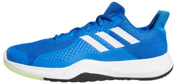 Adidas Fitbounce glow blue/cloud white/signal green