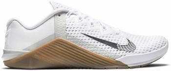 Nike Metcon 6 white/gum dark brown/grey fog/black