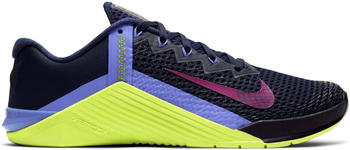Nike Metcon 6 Women blackened blue/cyber/sapphire/red plum
