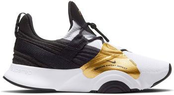 Nike SuperRep Groove Women white/metallic gold coin/black/black