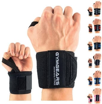 Gymgears Wrist Wraps 45 cm (VM10040) black