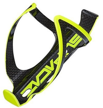 SUPACAZ Fly Cage Carbon Bottle Holder neon yellow