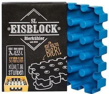 sl-Eisblock Bierkühler für 0,33 Liter Flaschen