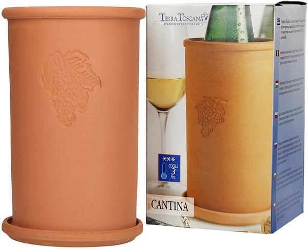 Homestyle Weinkühler 2-Tlg Terrakotta 16570
