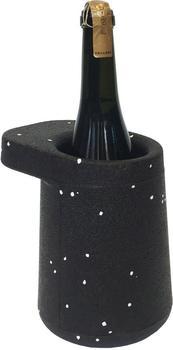 Puik Art Flaschenkühler Hat schwarz/gepunktet