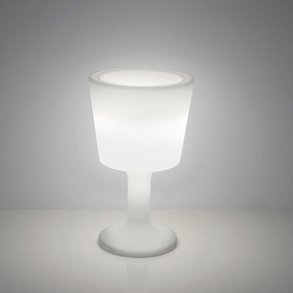 Slide Flaschenkühler beleuchtet