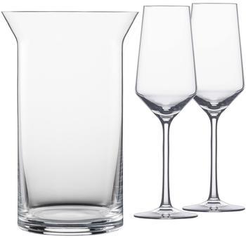 Schott-Zwiesel Pure Flaschenkühler Set mit Glässern