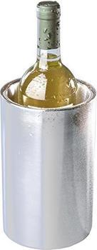 Hendi Weinkühler, Doppelwandig, für den Gebrauch ohne Eiswürfel, Flaschenkühler, ø120x(H)180mm, Edelstahl