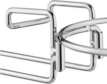 Relaxdays 2 x Sektkühlerhalter Tischhalterung Metall Sektkübelhalter Weinkühler Sekthalter