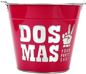 Dos Mas Dos Mas Getränkekühler Bar - Pink mit Logo / Your Party Shot