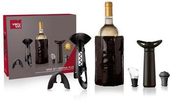 Vacu Vin Weinkühler Geschenkset Wein Original Plus, mit umfangreichem Zubehör