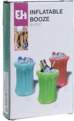 Excellent Houseware aufblasbarer Getränkekühler PVC blau