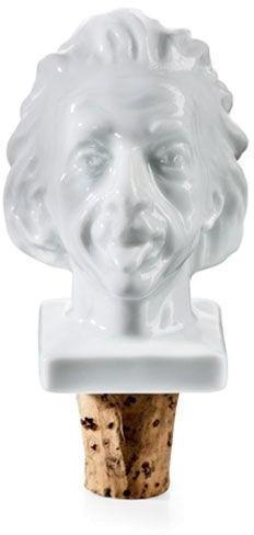 Donkey Weinflaschenverschluss Einstein Porzellankopf