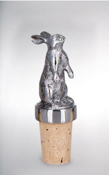 Silver life style collection Flaschenkorken Hase 8,0 cm