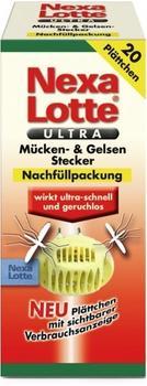 Nexa Lotte ULTRA Mückenstecker Nachfüller (20 Stk.)