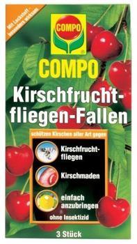 Compo Kirschfruchtfliegen- Fallen (3er Pack)
