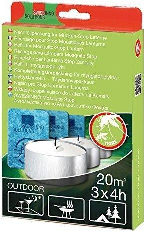 SwissInno Nachfüllpack für Mücken-Stopp Laterne